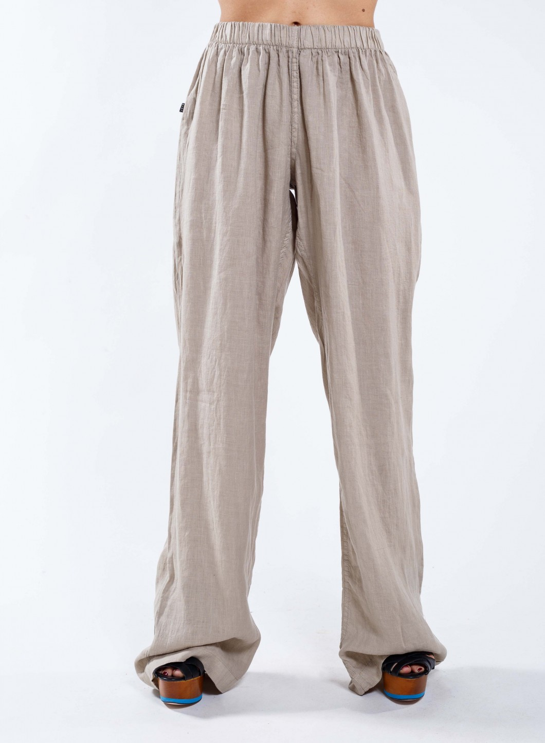 Pants Simple Women's 100% Linen