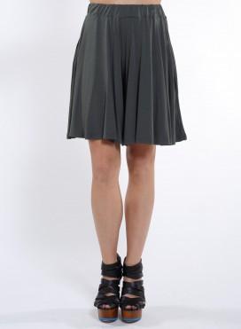 Φούστα Zip Mini Ελαστική