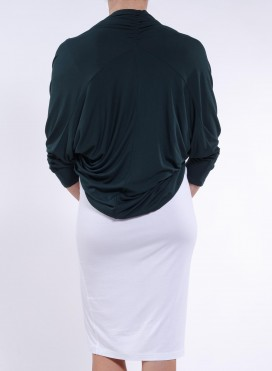 Jacket Bolero Drape Elastic